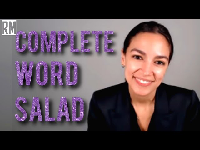 AOC Gives Ridiculous, Incoherent Response on Palestine