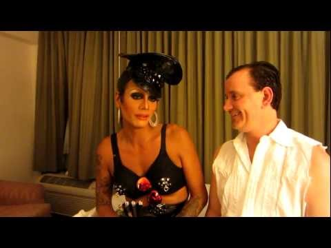 Raja (Sutan Amrull) Winner Of RuPaul's Drag Race Season Three, At Empress Hotel In Asbury Park NJ