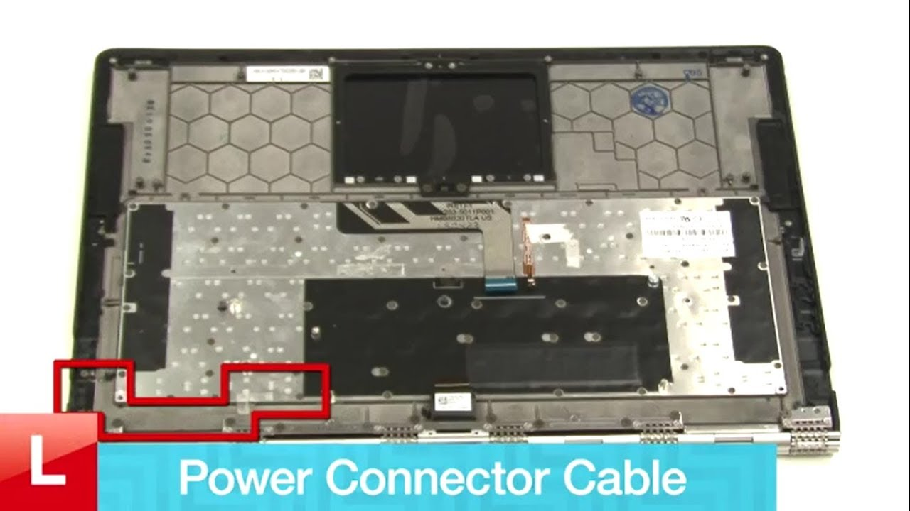 Lenovo Yoga 900 Power Connector Cable REPLACEMENT