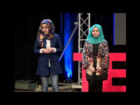 Use your intelligence as your weapon | Eman Ibrahim & Dastan Othmanh | TEDxErbil