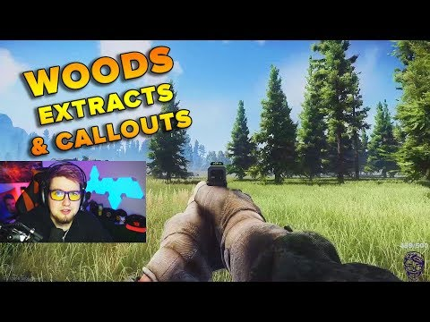 Woods Extraction Callout Guide Escape From Tarkov Tweak Youtube