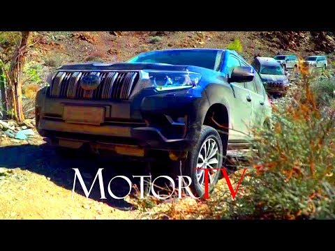 2018 TOYOTA LAND CRUISER l NAMIBIA OFF ROAD DRIVING EXPERIENCE