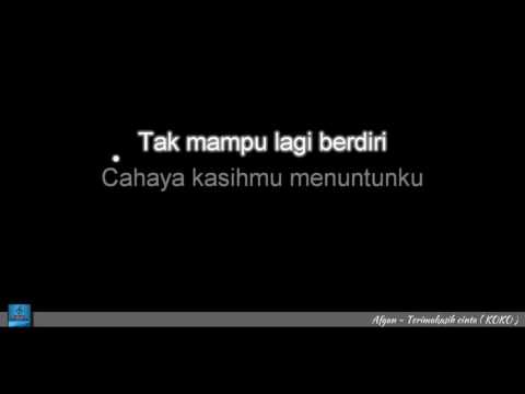 Afgan Terimakasih Cinta Karaoke Version No Vocal HD www stafaband com