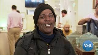 American Muslim Feeds the Needy in his Washington Restaurant