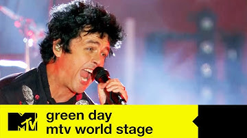 FULL EPISODE | GREEN DAY MTV World Stage LIVE From Seville