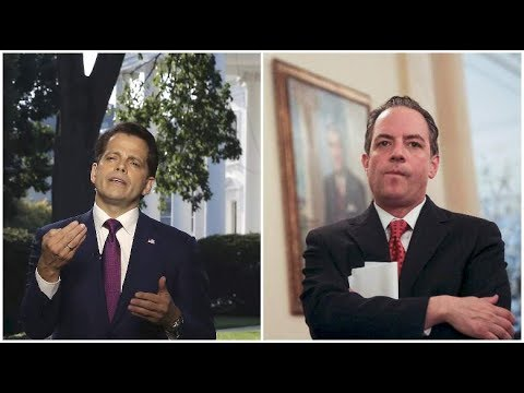 Anthony Scaramucci Wants FBI to Investigate Reince Priebus for Leaking Financial Info FULL story