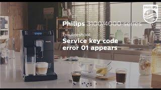 видео Ошибка 3 и 4 кофемашин SAECO PHILIPS