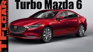 Inside the Cool 2018 Mazda 6 Turbo Engine and How it Works