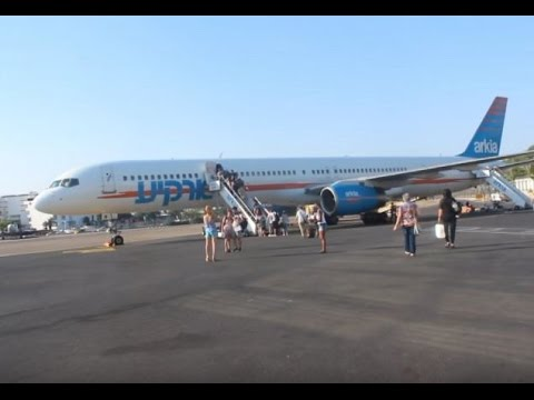 Arkia Israeli Airlines Flight Report || Eilat ETH to Tel Aviv TLV || Economy Class B757-300 ✈