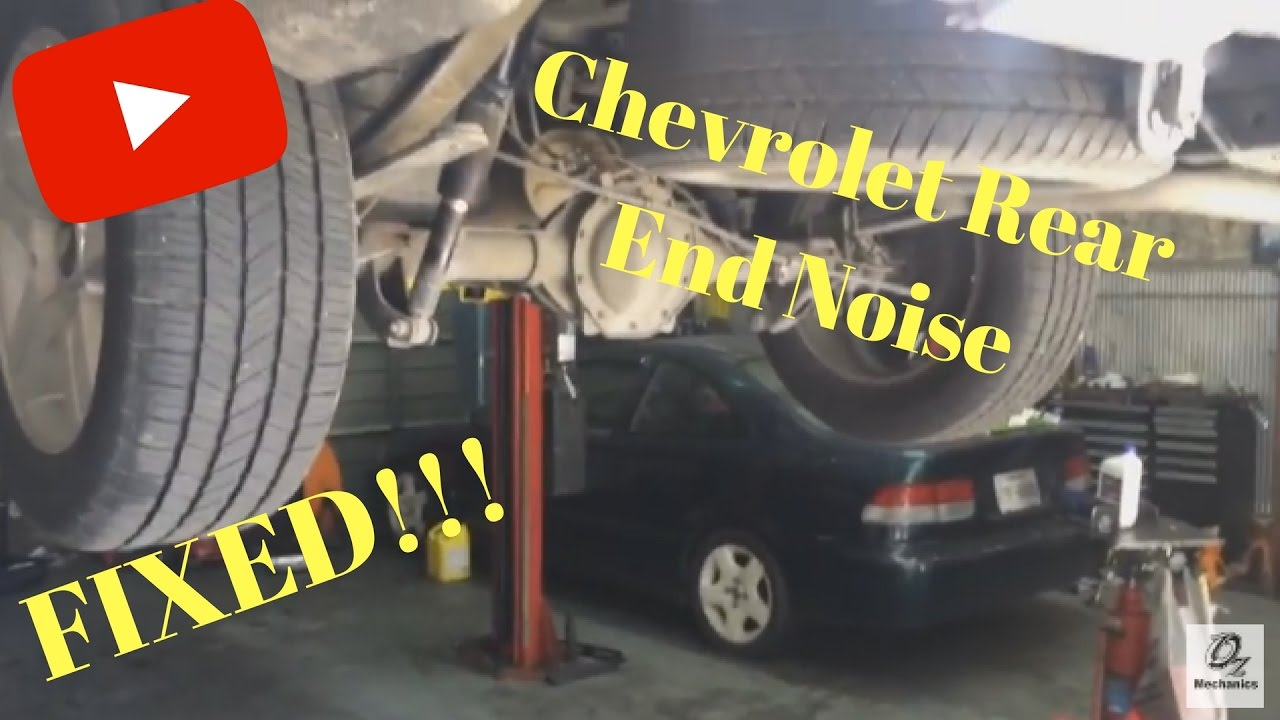 2009 Chevrolet Silverado rear end noise