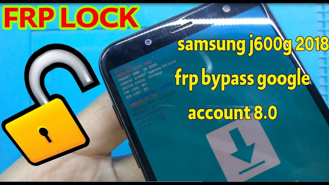 how to remove frp samsung j600g u3 combination free download