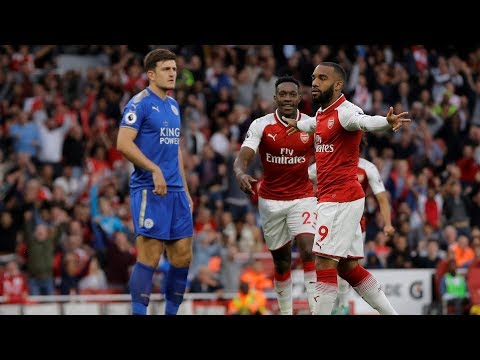 MATCH HIGHLIGHTS: Arsenal v. Leicester City