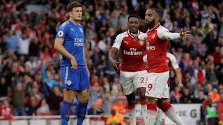 Video MATCH HIGHLIGHTS: Arsenal v. Leicester City download MP3, 3GP, MP4, WEBM, AVI, FLV November 2018
