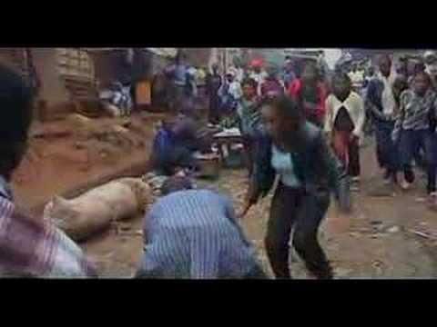 Our Peaceful Film Shoot in an African Slum (Kibera Kid)