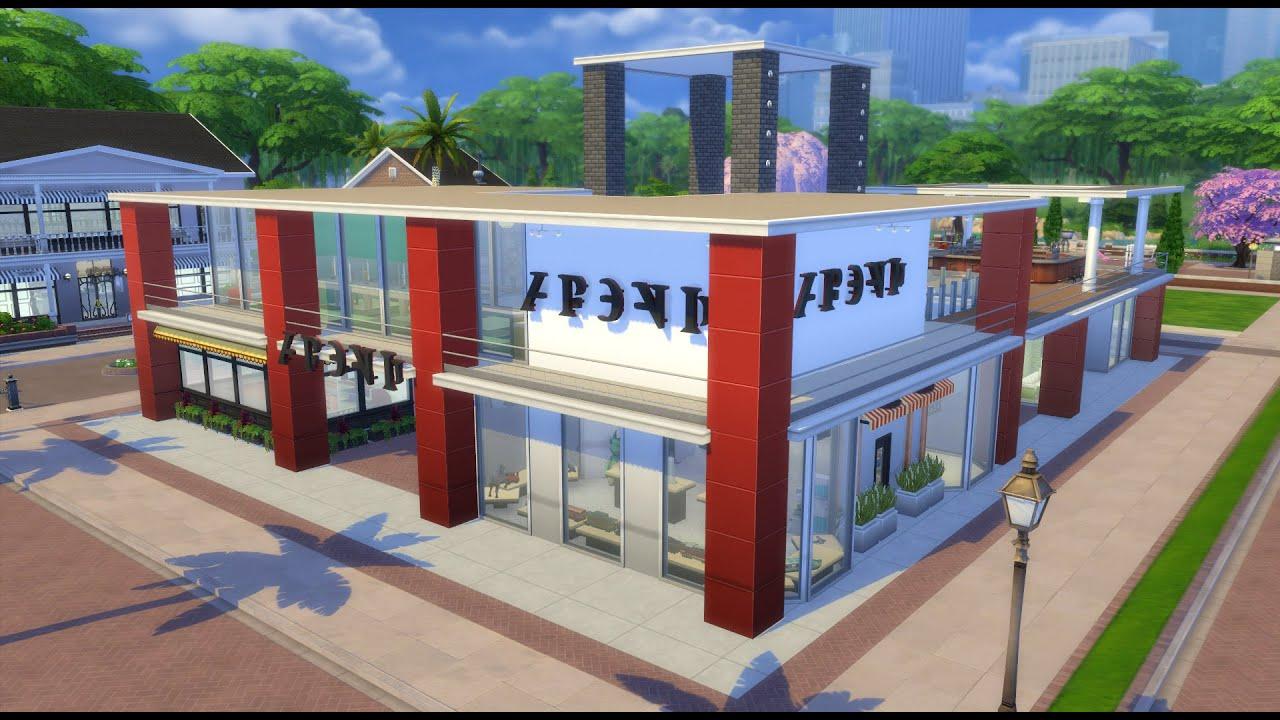 The sims 4 houses shopping centre centro comercial - Centro comercial moda shoping ...