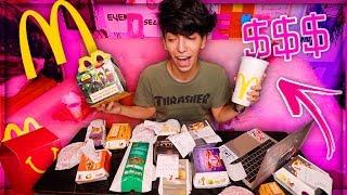 طلبت منيو ماكدونالدز بالكامل!! ( ما راح تصدقون كم طلع الحساب !!)