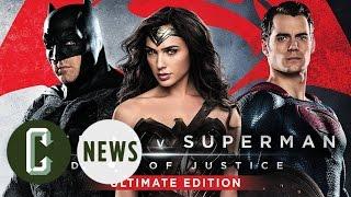 'Batman v Superman' Ultimate Edition Trailer & Blu-ray Details
