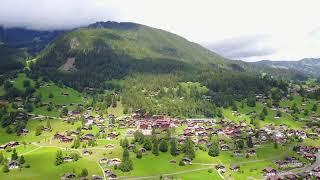 Grindelwald  Mättenberg und teilweise Eiger Nordwand