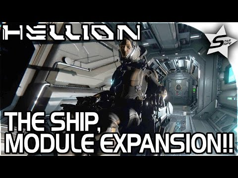 "HELLION - ""DOCKING AIR MODULE, EXPANDING BASE, AMAZING SHIP!!"" - Hellion Gameplay Part 3 (Tutorial)"