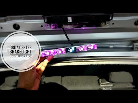 Repeat Changing Third Brake Light Bulbs on Civic EP2| How to change