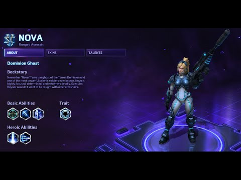 Heroes of the Storm - Nova Guide
