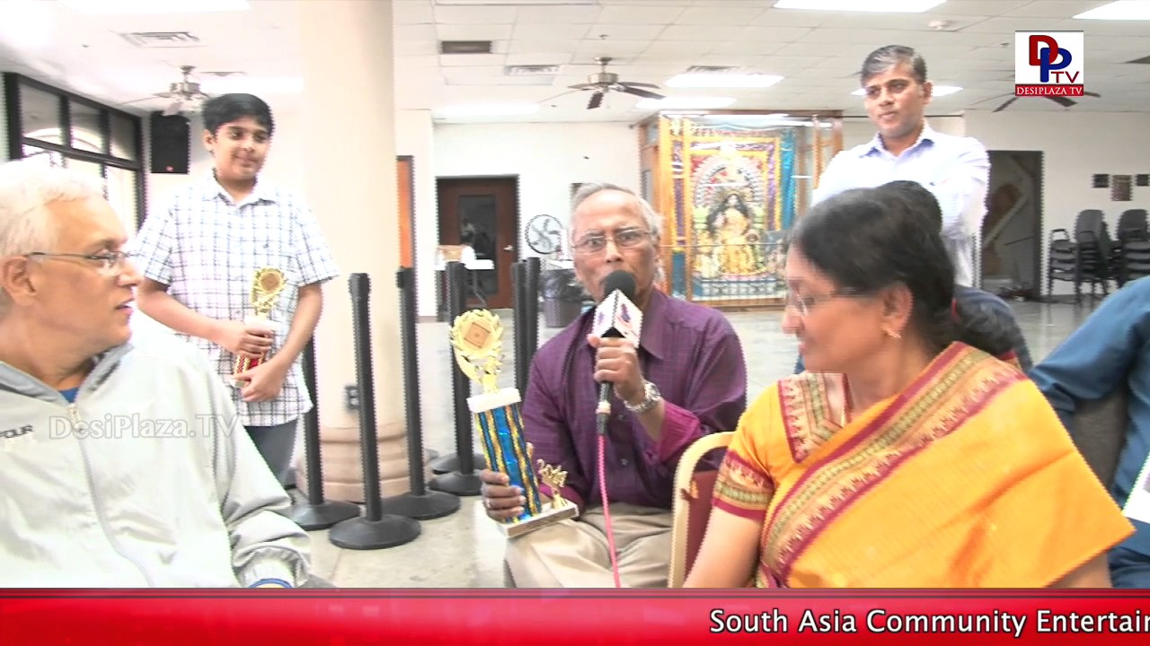 """Previously MTS used to conduct this tournament"" - Participant at DFW Temple 3rd Carrom Tournament"