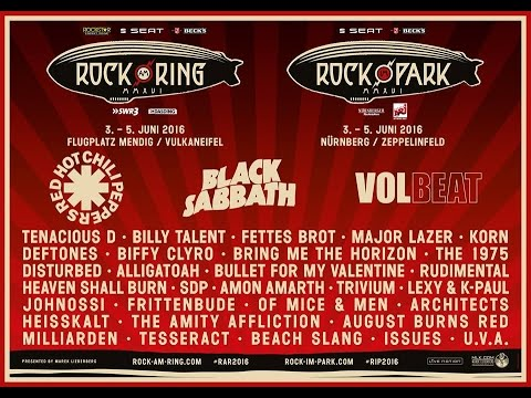 Volbeat@Rock Am Ring Live 2016 Full