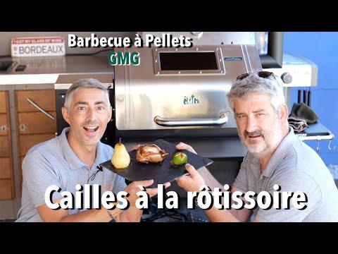 cailles-à-la-rôtissoire-gmg---barbecue-à-pellet