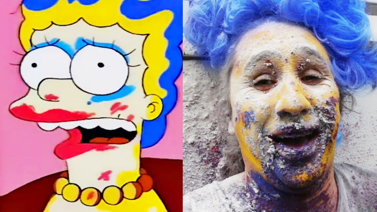 simpsons makeup gun