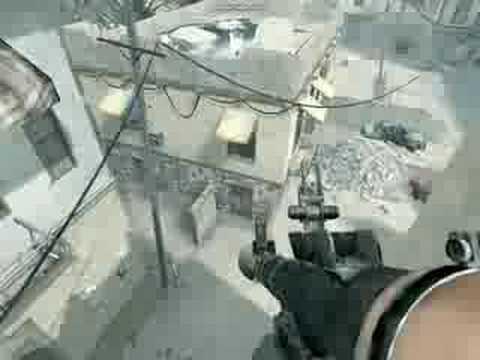 Call of duty 4 New Crash jump