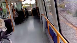 Поезд метро без водителя (Копенгаген, Дания).