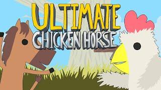 Ultimate Chicken Horse - ОТКРЫЛИ НОВЫЙ УРОВЕНЬ!