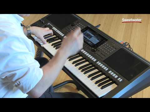 Yamaha PSR-S770 Arranger Keyboard Workstation Demo by Sweetwater