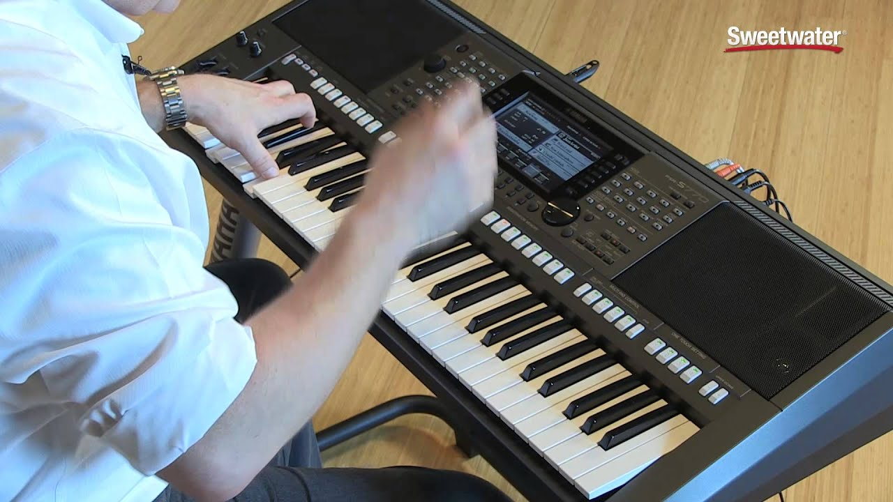 yamaha psr s770 arranger keyboard workstation demo by. Black Bedroom Furniture Sets. Home Design Ideas