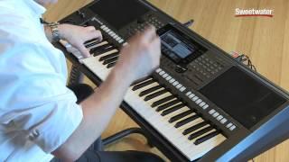 Yamaha PSR-S770 Arranger Keyboard Workstation Demo by Sweetwater