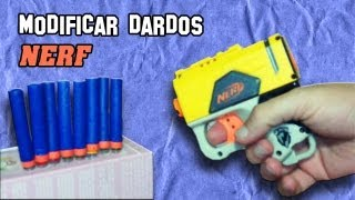 ✔ Cómo Modificar Dardos Nerf | Modify as Nerf Darts