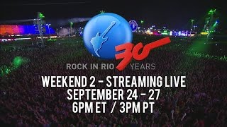 LiveXLive - Rock In Rio 2015 - Week One Highlights