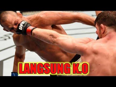 Pukulan Yang Membuat K.O Paling Kejam Dalam MMA