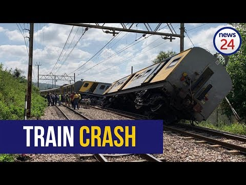 WATCH: Trains collide at Mountain View station in Pretoria