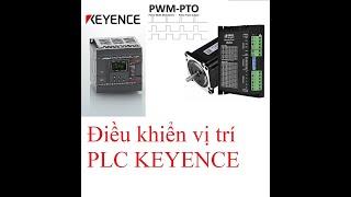 Hướng dẫn lập trình PLC Keyence Bài 5:  Điều khiển vị trí với step motor.