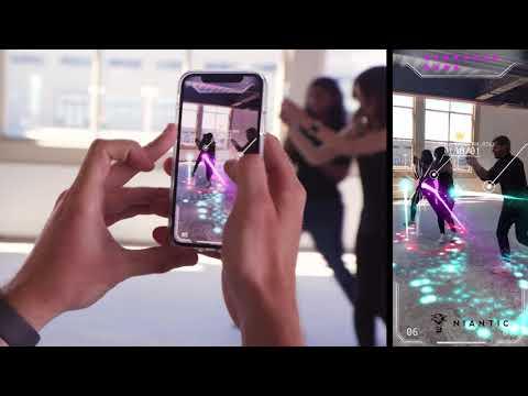 Codename: Neon - Real World Multiplayer AR Demo