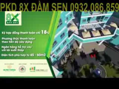 Bán căn hộ 8x đầm sen quận Tân Phú