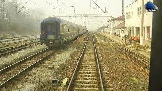 Train Backview Cluj Napoca-Gherla-Dej Călători @IR1832 Cluj Napoca-Galați - 20 February 2019
