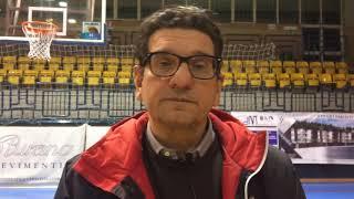 🎙Coach Fantozzi: Post-partita BPC Virtus Cassino - Corato
