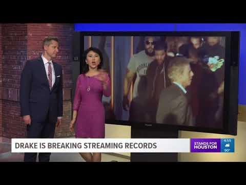 Drake's New Album 'Scorpion' Breaks Streaming Record