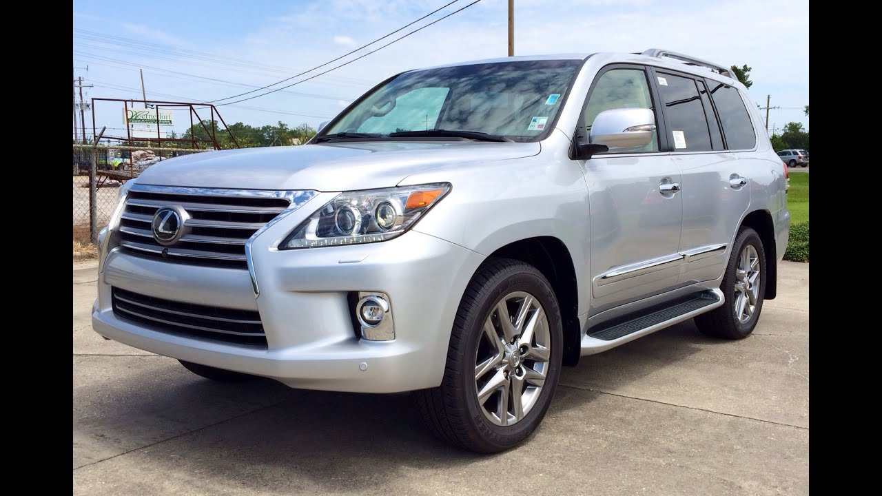 2015 Lexus LX 570 Exhaust Start Up Full Review
