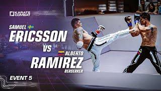 Full Fight: Samuel Ericsson vs Alberto Ramirez - Karate Combat S03E05