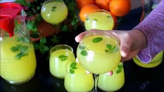 1 limon 1 portakal ile 3 litre limonata yapımı - LİMONATA nasıl yapılır (acısız) - İçecek tarifleri