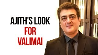Ajith's new look ..