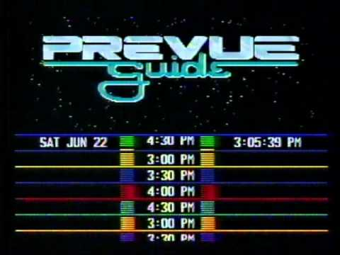 Prevue Guide Music from 1991